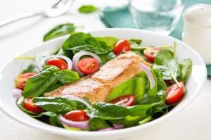 salad-salmon
