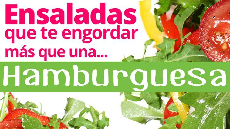 No todas las ensaladas son saludables adelgaza 20 - Alimentos que engordan por la noche ...