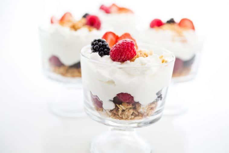 el yogurt griego para adelgazar